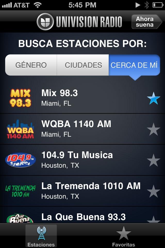 Univision Radio Launches Iphone App Media Moves