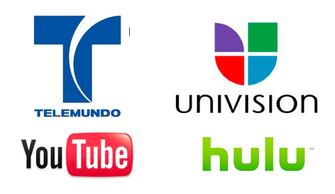 Spanish-language networks Univision and Telemundo have signed deals to