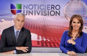 Noticiero Univision new set