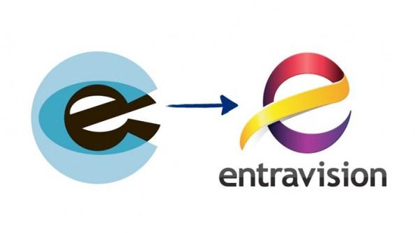 Entravision logos  E! Logo