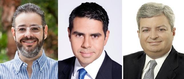 Isaac Lee, César Conde, Andrew Hobson.