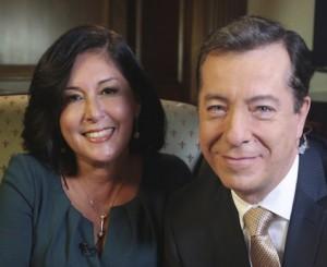 "Jorge Barbosa interviewed his former co-anchor Edna Schmidt for the series ""Mi Verdad."""