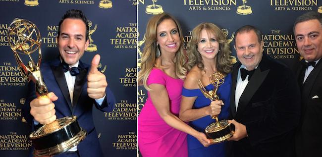 """Univision's Calderón, """"El Gordo y La Flaca"""" win Emmys"""