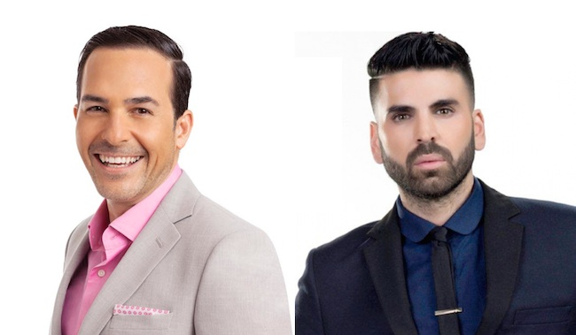 "Calderón and Goyso named co-hosts of ""Sal y Pimienta"""
