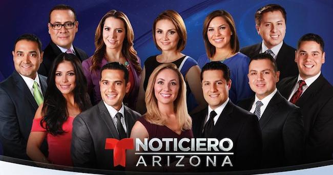 Noticiero Telemundo Arizona #1 at 10 pm