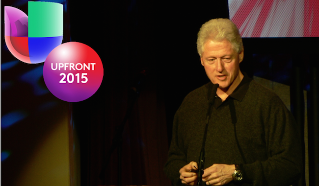 Univision taps Bill Clinton for Upfronts