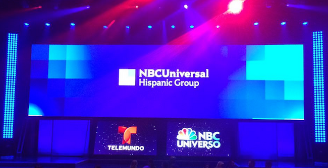 Telemundo and NBC Universo share Upfront stage