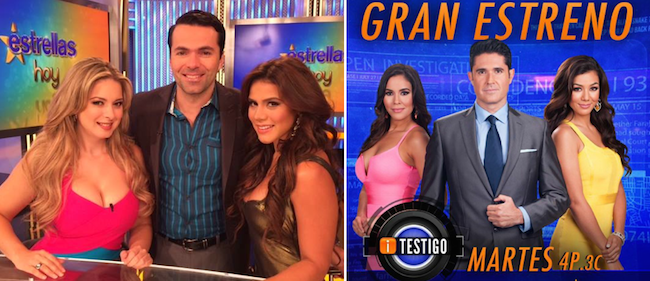 "Estrella TV cancels ""Estrellas Hoy,"" launches ""iTestigo"""