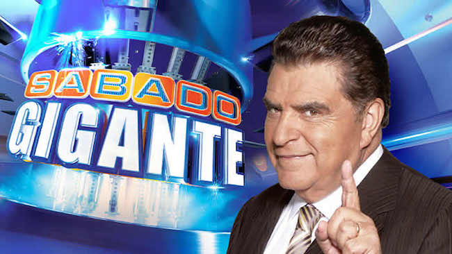 "Univision's ""Sábado Gigante"" signs off a final time"