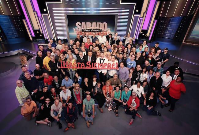 Final Sábado Gigante makes Univision #1