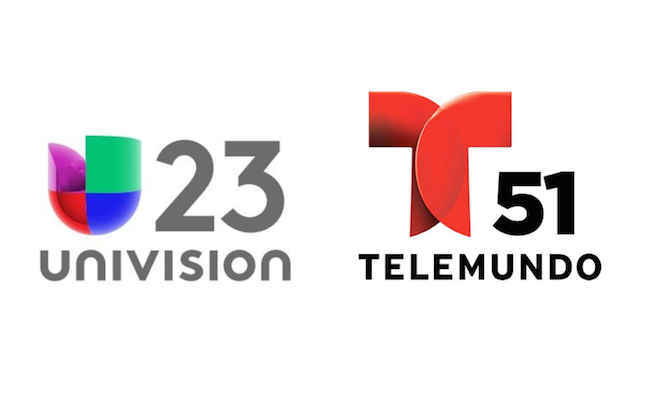 Univision #1 at 6, Telemundo at 11 in Miami