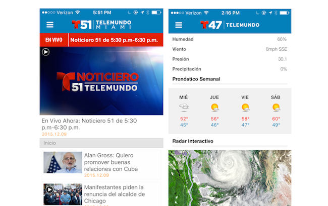 Telemundo stations revamp digital platforms