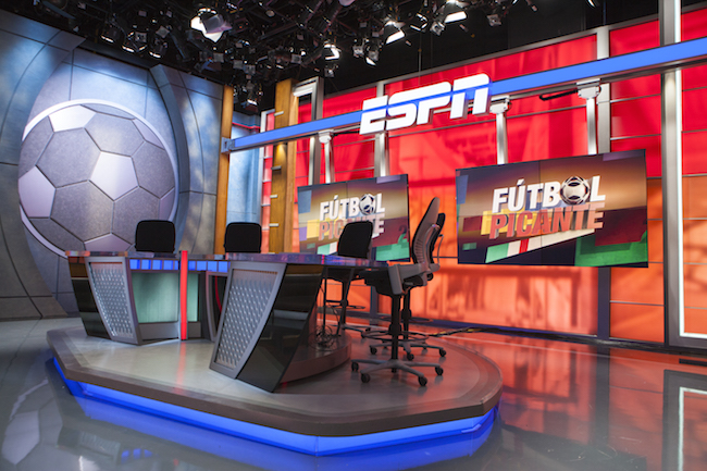 ESPN Deportes debuts new set and programming slate
