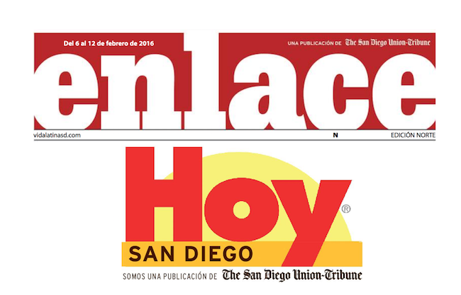 Enlace rebranded to Hoy San Diego