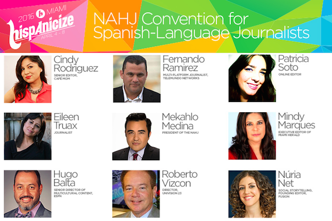 Hispanicize & NAHJ announce Spanish-language conference lineup