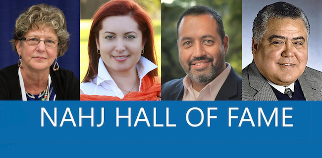 NAHJ names inductees to the 2016 Hall of Fame