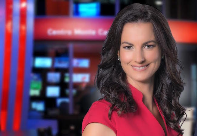 Dalmas returns to Uruguay to anchor newscast