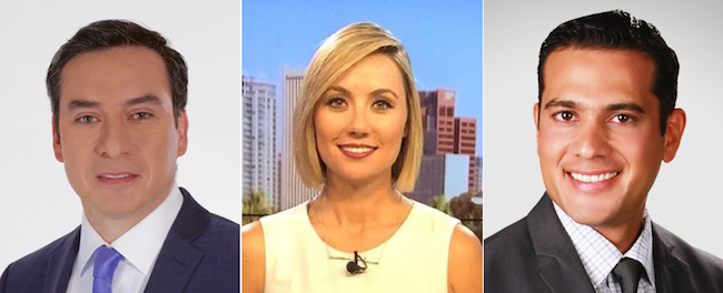 Telemundo names Muñoz, Diaz and Pereida network correspondents