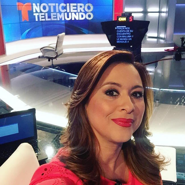 Neida Sandoval out at Telemundo