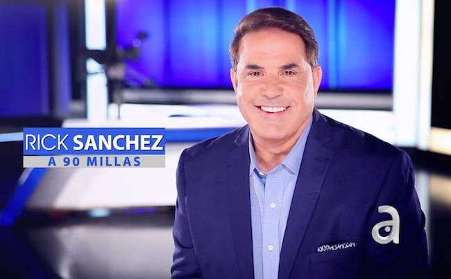 Sánchez resurfaces with new show on América TeVé