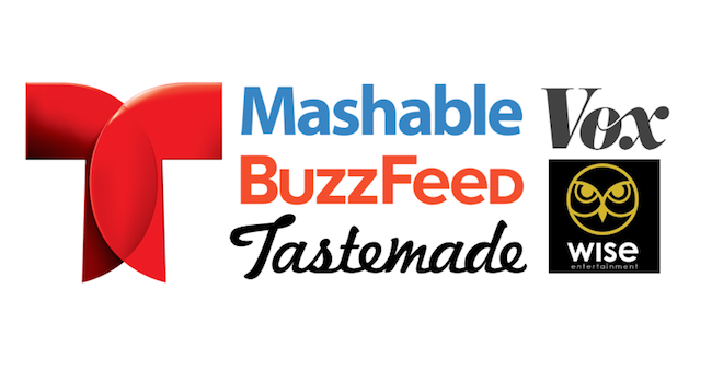 "Telemundo partners with Mashable, Buzzfeed, Vox to target ""Generation M"""