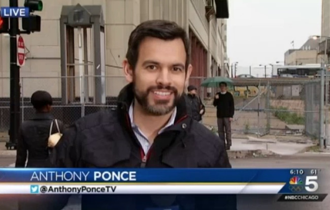 Anthony Ponce quits WMAQ