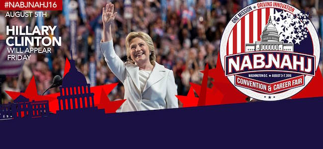 Hillary Clinton to speak at NAHJ/NABJ convention