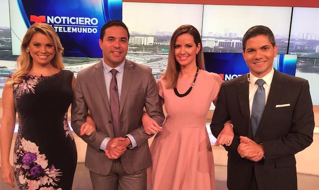 Telemundo 51 moves Santana & Delgado to AM; Molina to 5 pm; Rodríguez to reporting