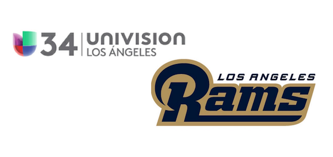 Univision partners with LA Rams