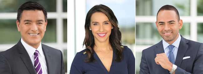 Díaz and González to anchor 4 pm; Zapata named weekend anchor at KXTX