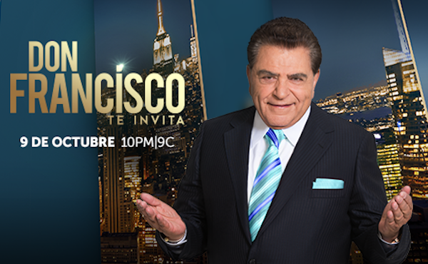 "Telemundo sets premiere date for ""Don Francisco Te Invita"""