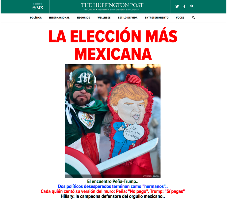 Huffington Post Mexico goes live