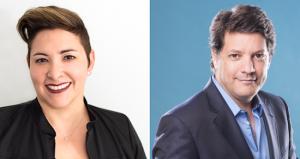 Lourdes Diaz and Adrian Santucho