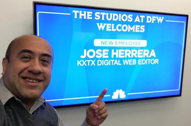 Herrera hired as Web Editor at KXTX