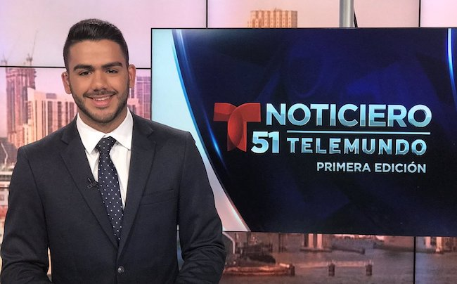 Carlos Adyan hired at Telemundo 51
