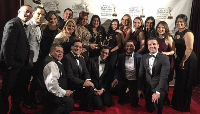 Telemundo and Univision celebrate NY Emmy wins