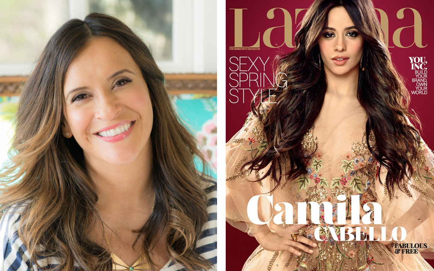 Latina promotes Moreno as magazine experiences financial troubles