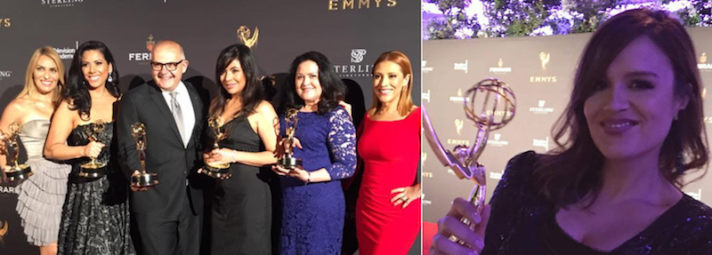 Telemundo wins best newscasts; fired Estrella TV anchor Karla Amezola wins at LA Emmys
