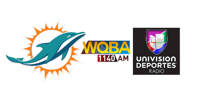 Miami Dolphins ink multiyear deal with Univision Radio's WQBA 1140 AM