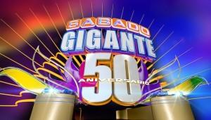 Sabado Gigante 50 anniversary logo