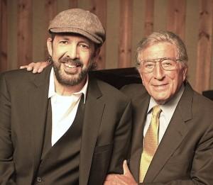 Juan Luis Guerra and Tony Bennett