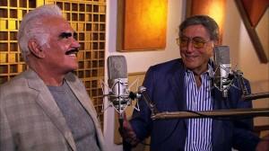 Vicente Fernandez and Tony Bennett
