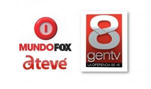 MundoFox-GenTV-AmericaTeVe logos