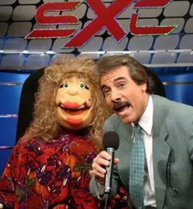 """La Comay"" and sidekick Hector Travieso hosted WAPA's ""SuperXclusivo."" Their last show was Mon, Jan7, 2013."