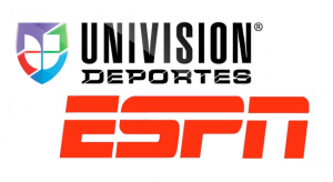 Univision-ESPN logos