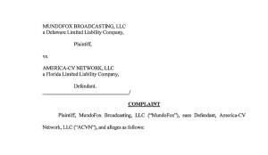 MundoFox lawsuit