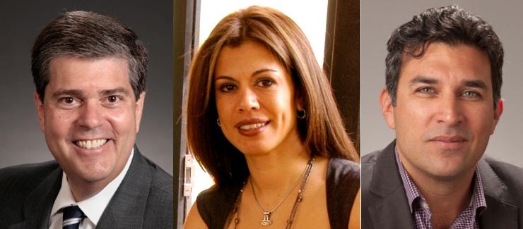 David Burke, Adriana Peña Ruiz, Edward Meléndez