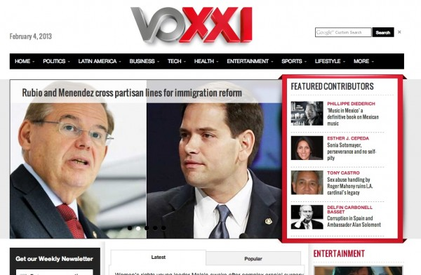 VOXXI co-founder target of FBI probe