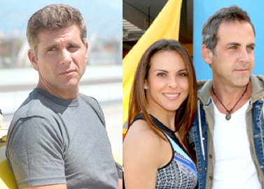 Christian Meier, Kate del Castillo and Carlos Ponce