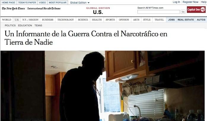 NYT publishes bilingual story